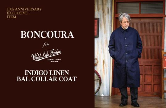 BONCOURA for WILD LIFE TAILOR 2020.1.29 WED. NEW RELEASE